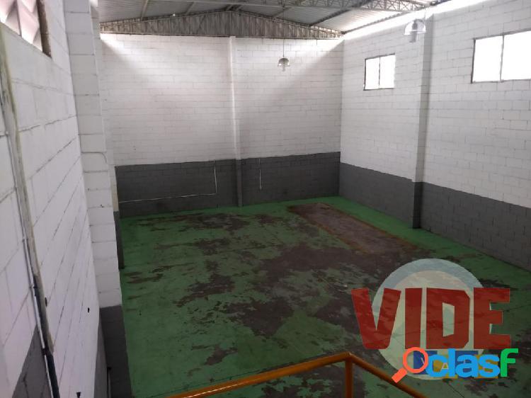 SJC: Galpão na zona sul, 200 m², próximo ao Eldorado e Chácaras Reunidas 2