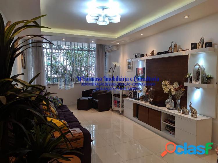 Excelente apartamento a venda 3 quartos, rua barão de ipanema copacabana
