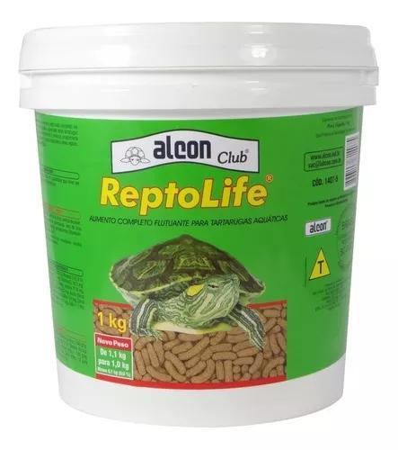 Alcon reptolife raçao tartaruga extrusada reptolife 1 kg