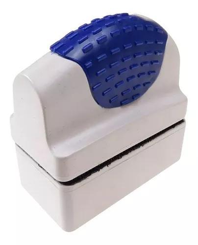 Aleas limpador magnetico fmb-06 p vidros aquário até 6mm