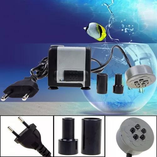Bomba led submersa fonte aquário cascatas 500 litros/horas