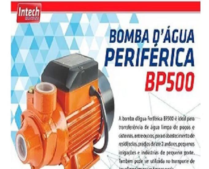 Bomba água periférica bp500 12 hp 127v intech machine