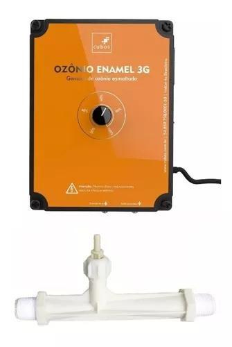Cubos gerador ozônio enamel 3 g com venturi 1 polegada