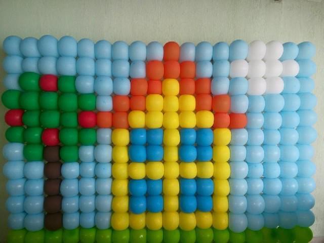 Cursos de balões e artes