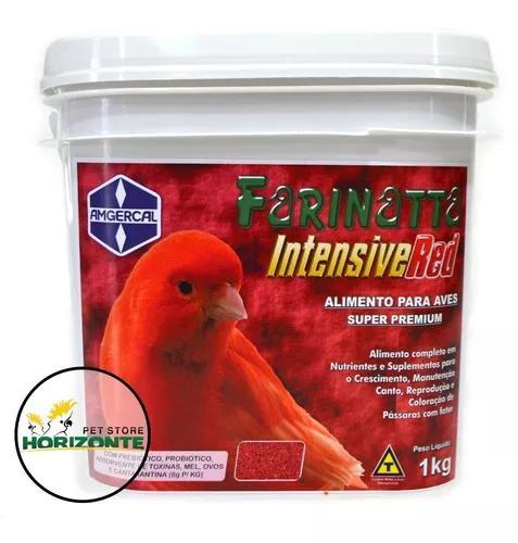Farinatta intensive red 1kg - farinhada amgercal