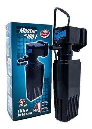 Filtro interno master 180 l/h com bomba oxigenador 110v
