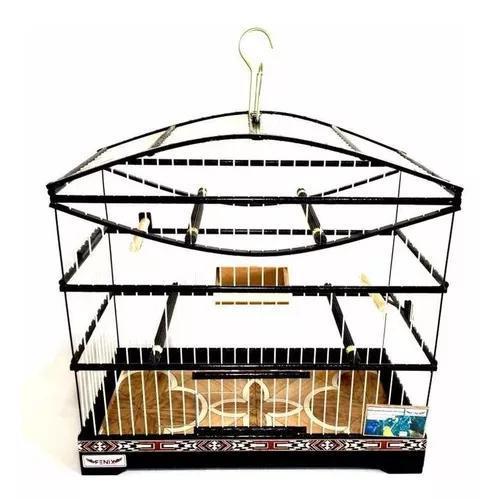 Gaiola coleiro canário papa capim pássaros fibra