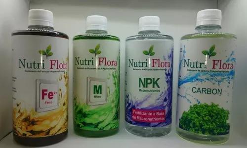 Kit fertilizantes liquidos p/ aquários plantados low-tech