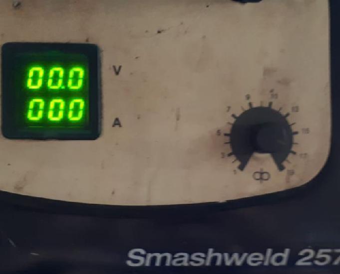 Maquina de solda mig mag smashweed 257 marca esab