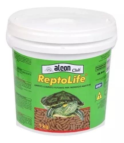 Ração para tartarugas alcon reptolife 1kg - promoção