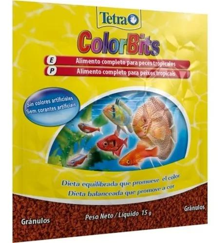 Ração tetra colorbits granules