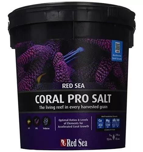 Red sea coral pro balde 7kg ideal para todos tipos de corais