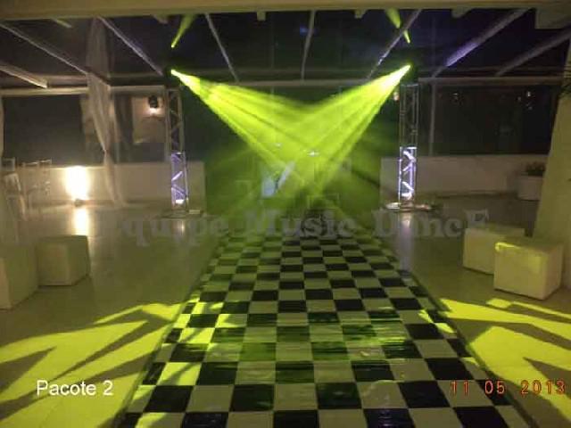 Som iluminação e dj para festas