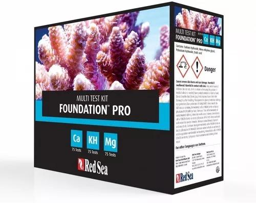 Teste kit reef foundation pro red sea cálcio alc/kh