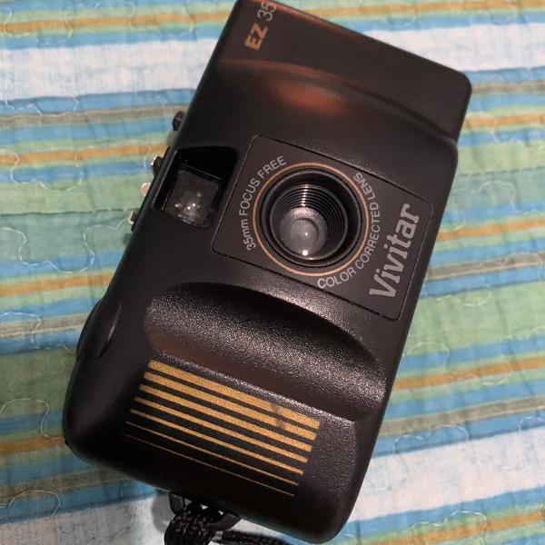 Câmera analógica manual vivitar