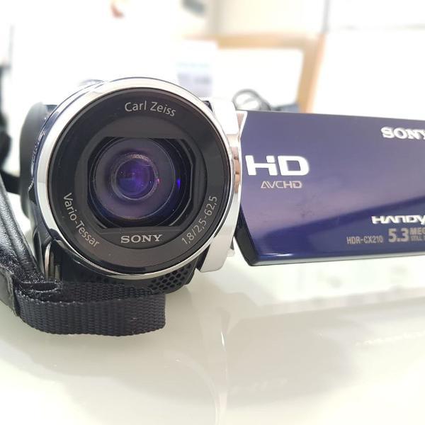Câmera filmadora sony novinha