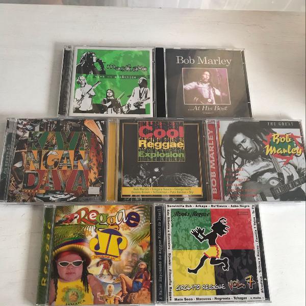 Coletânea de cds de reggae