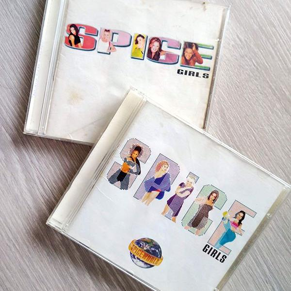 Kit cds spice girls