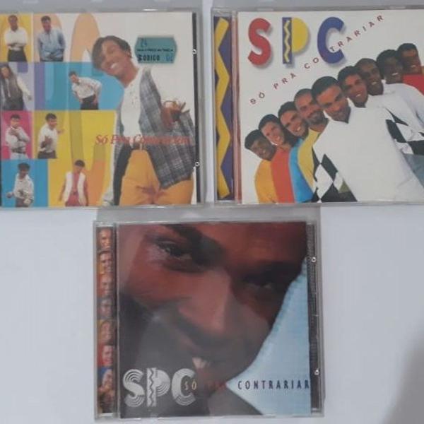 Lote 3 cds originais - spc só pra contrariar
