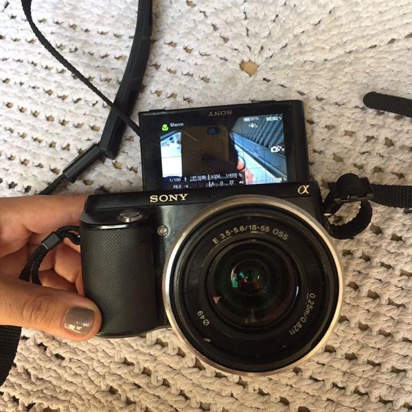 Sony nex f3 16.1 mpx mirrorless raridade