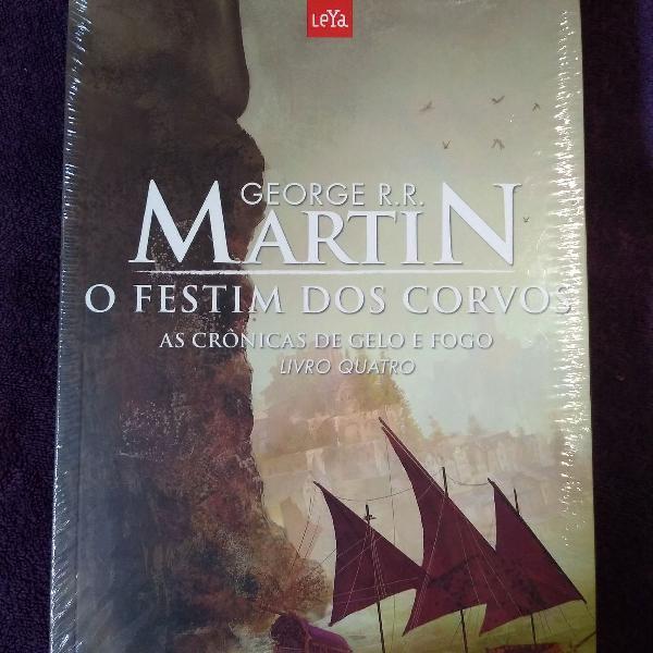 As crônicas de gelo e fogo - o festim dos corvos (livro 3).