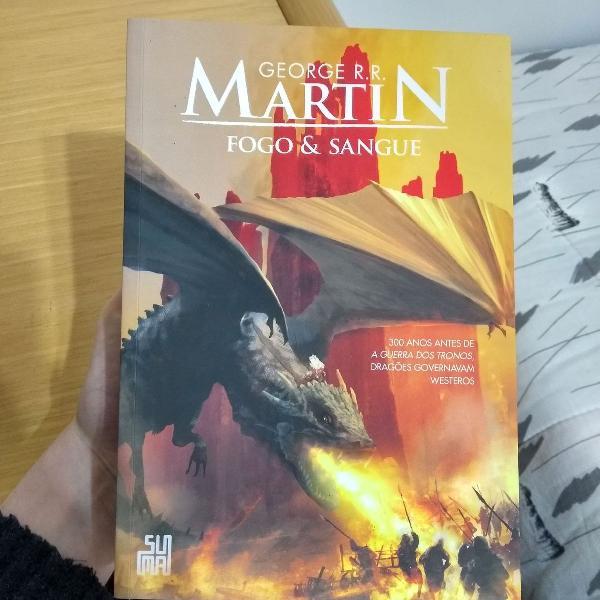 Fogo e sangue - george r. r. martin