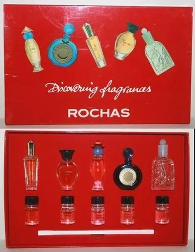 Kit de miniaturas discovery fragances rochas