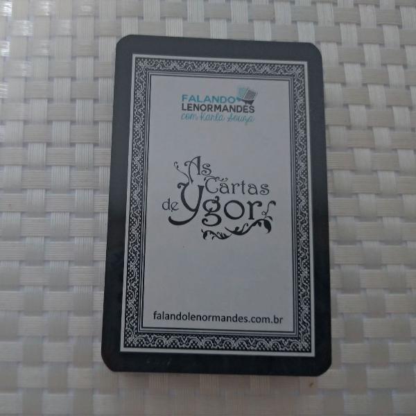 Lenormand (baralho cigano) as cartas de ygor