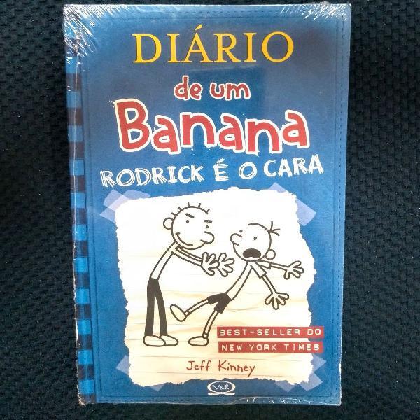 Livro diário de um banana 2 - rodrick é o cara