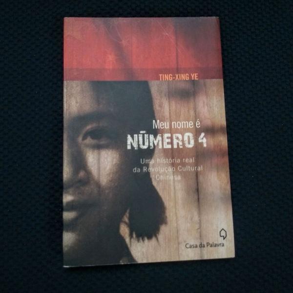Livro eu sou a número 4