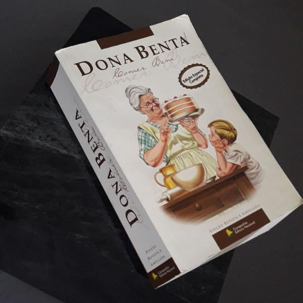 Livro de receitas dona benta comer bem edição completa