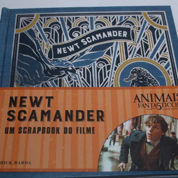 Scrapbook newt scamander (harry potter)