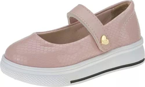 Sapato sapatilha infantil criança menina velcro moda joy's