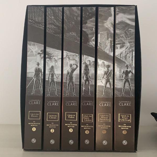 Box instrumentos mortais 6 volumes