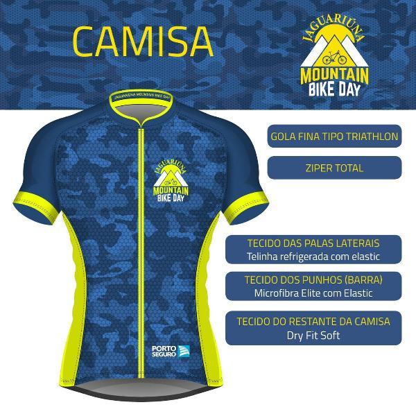 Camisa ciclismo jaguariúna mountain bike day