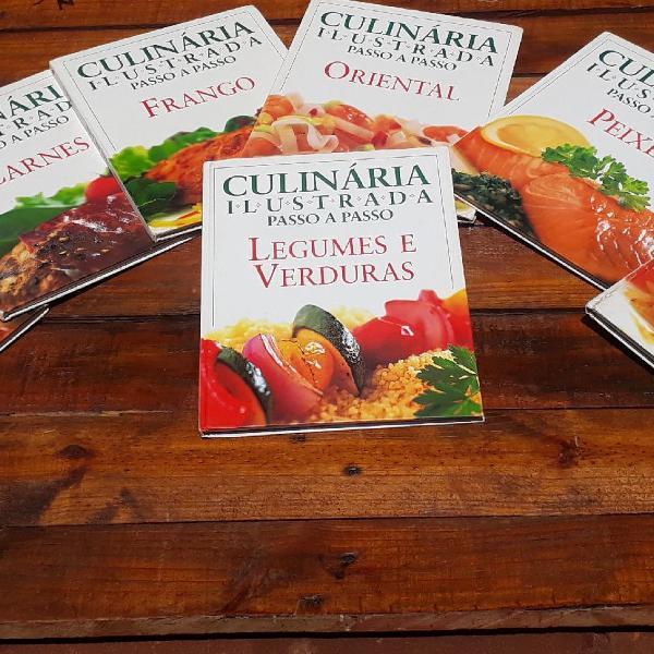 Coletânea de livros gastronomia