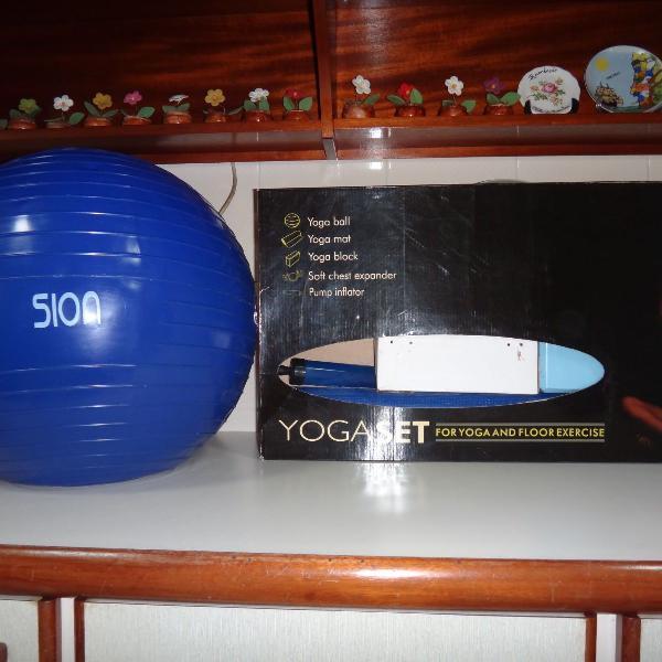 Kit yoga e pilates