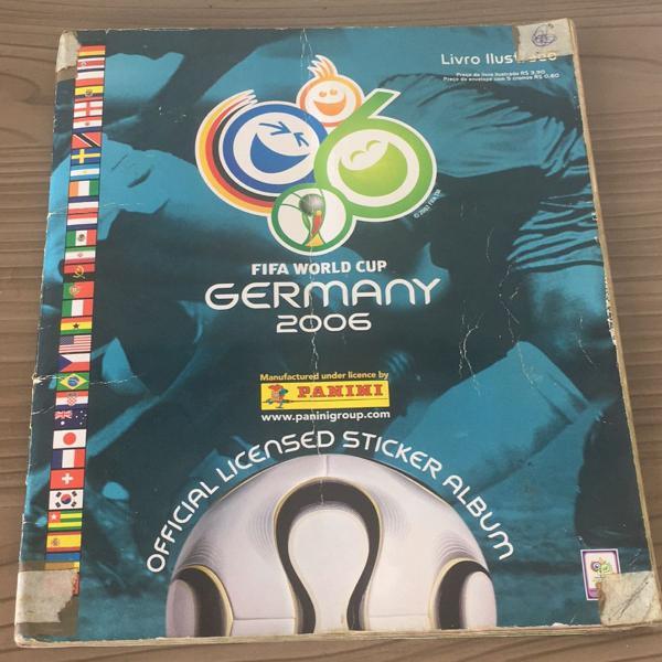 Lbum de figurinhas copa do mundo 2006