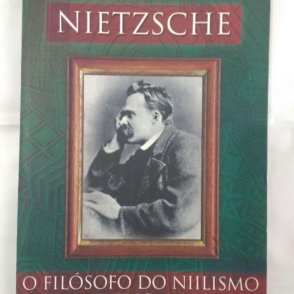Livro coleção e pensamento volume 1 - nietzsche
