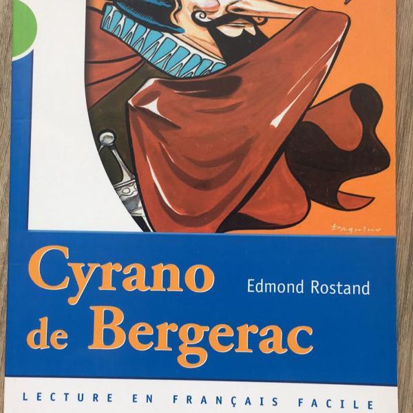 Livro cyrano de bergerac, de edmond rostand