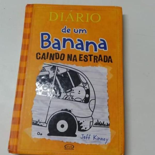 Livro diário de um banana - caindo na estrada