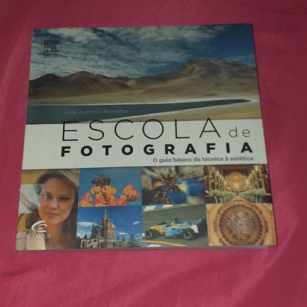 Livro escola de fotografia