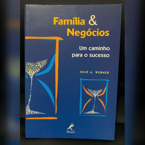 Livro família e negócios - novo - sem uso