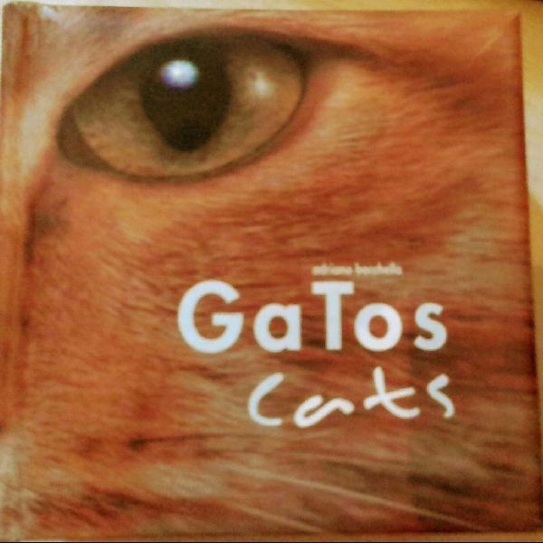 Livro gatos adriano bacchella. fotos incríveis e muito mais
