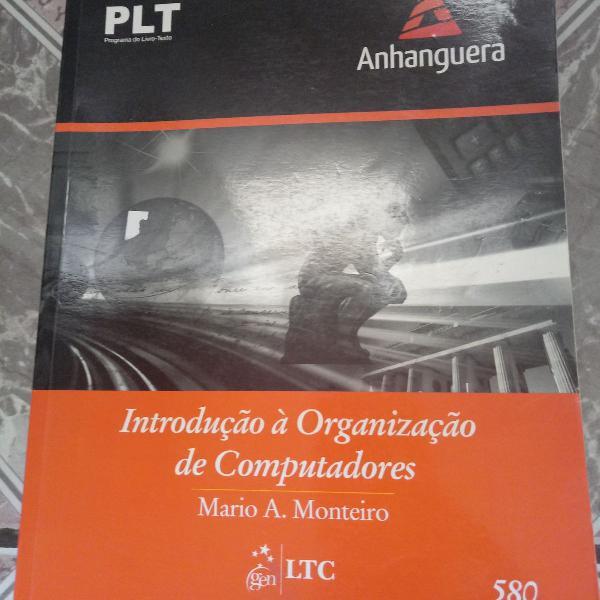 Livro introdução à organização de computadores