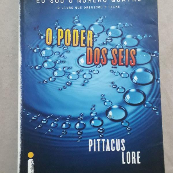 Livro o poder dos seis (autor:pittacus lore)