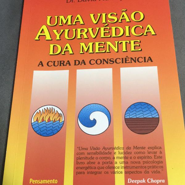 Livro uma visão ayurvédica da mente