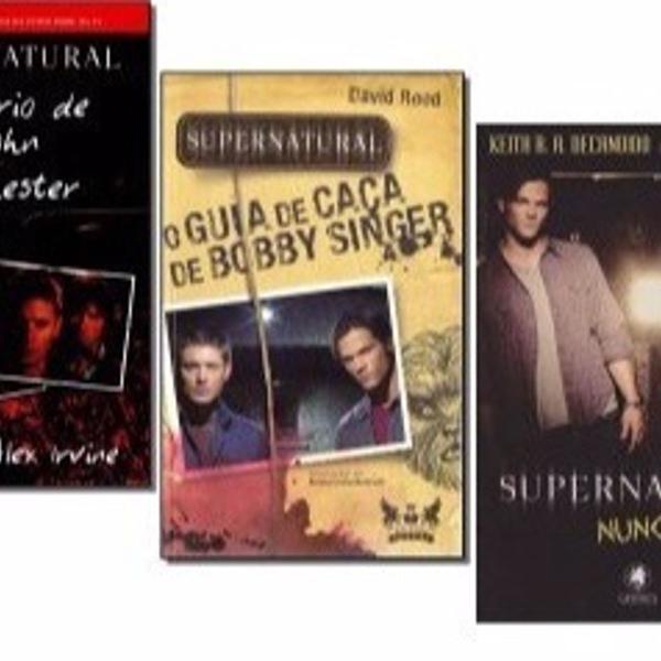Livros supernatural - 3 titulos
