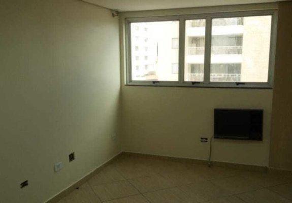 Aluguel sala comercial 1 wc 1 vaga ar cond - 24 mts
