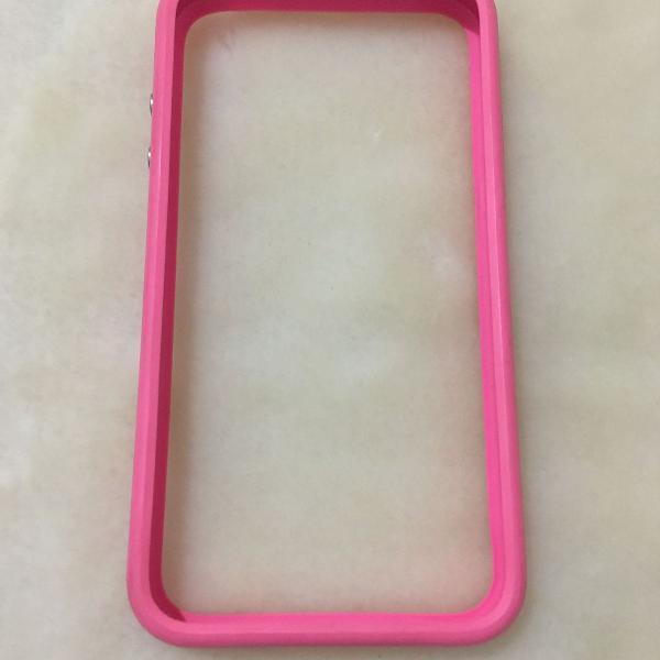 Bumper rosa iphone 4, 4s